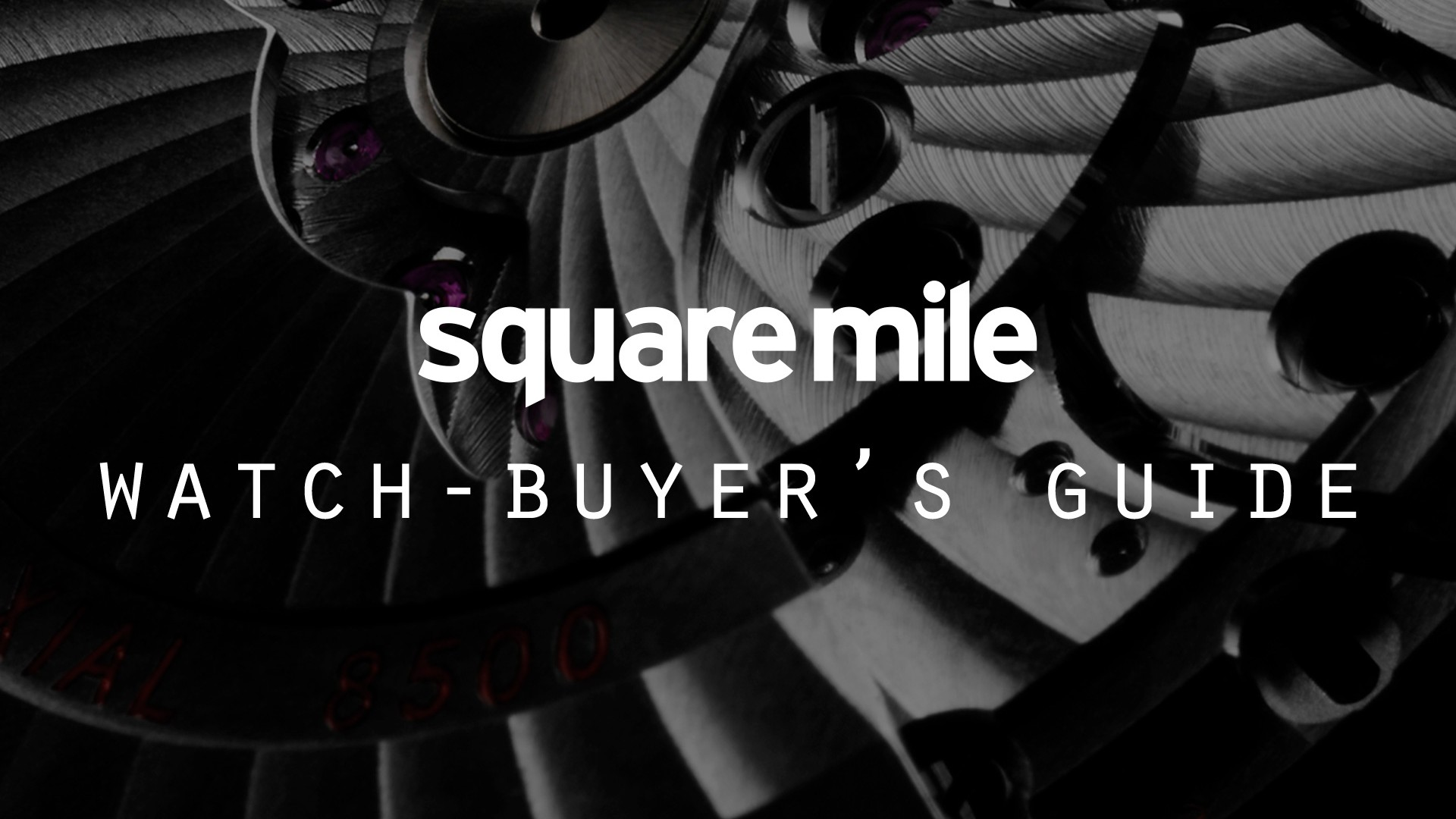 Square Mile Watch Buyer's Guide