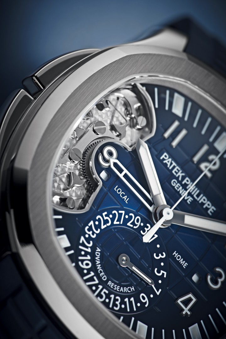 Patek Philippe Aquanaut Travel Time 5650G Advanced Research
