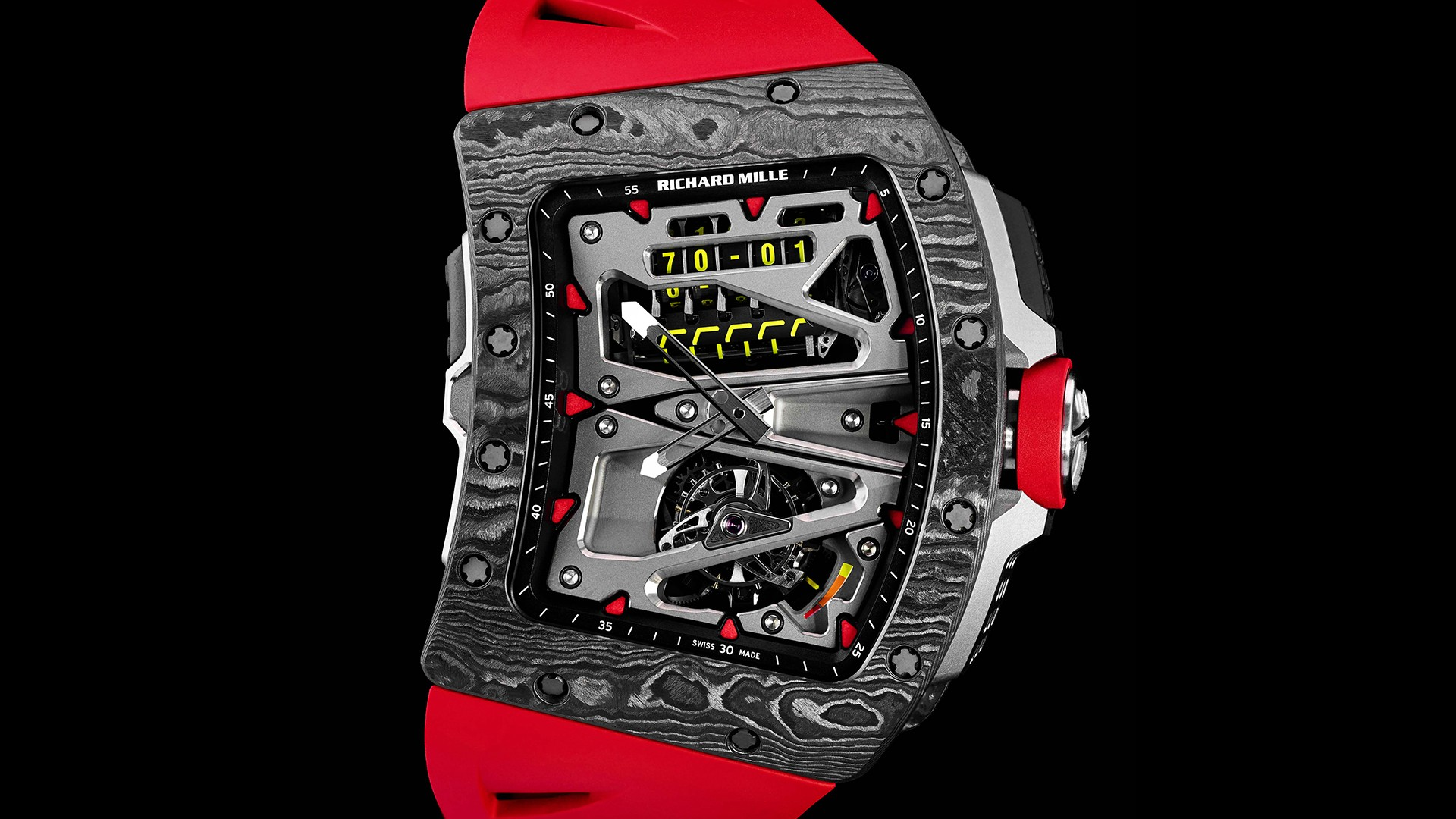 Richard Mille Cycling Watch