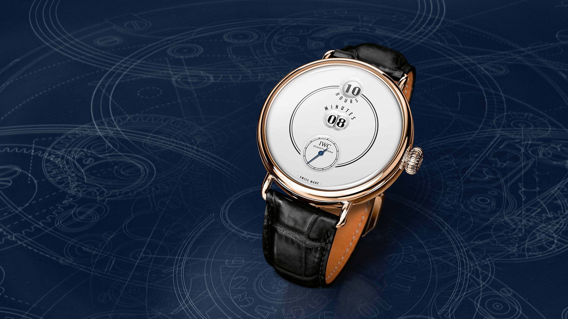 IWC Tribute To Pallweber Edition '150 Years' watch