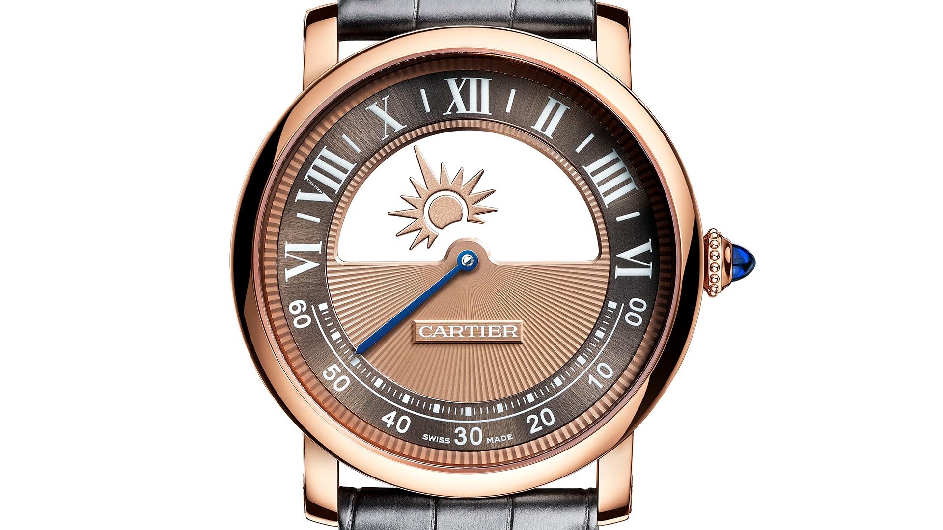 Cartier Rotonde de Cartier Mysterious Day & Night watch