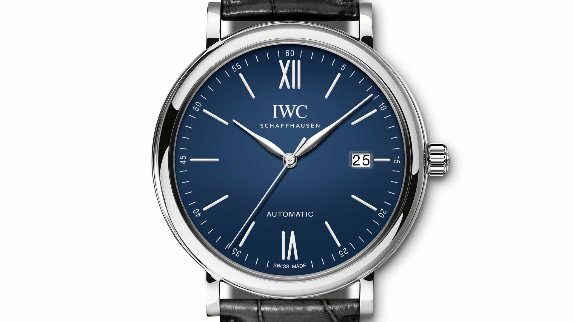 "IWC Portofino Automatic Edition ""150 Years"" date watch, SIHH 2018"