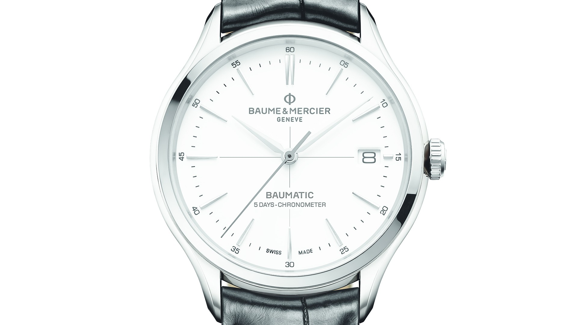 Baume et Mercier Clifton Baumatic five-day chronometer watch, SIHH 2018