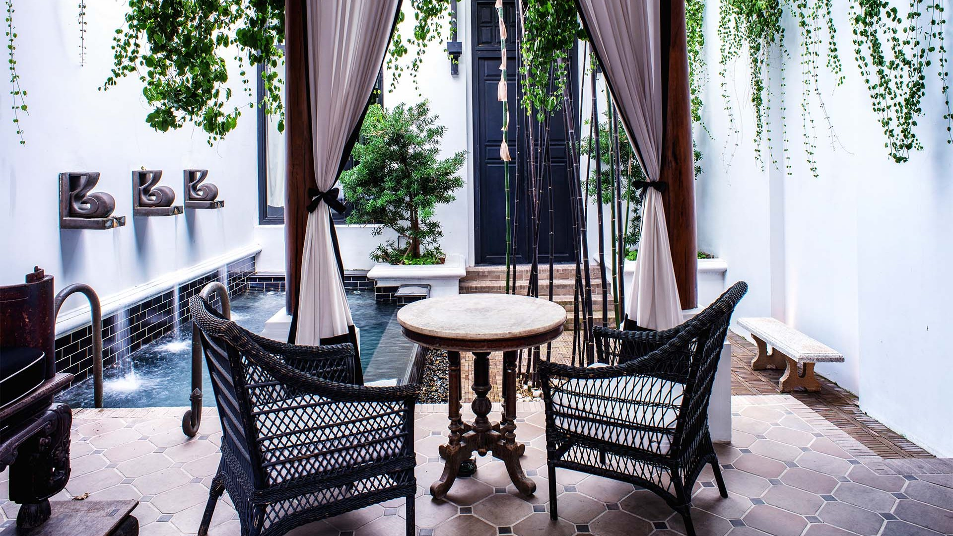 Visiting Bangkok The Siam Hotel offers a seriously sophisticated
