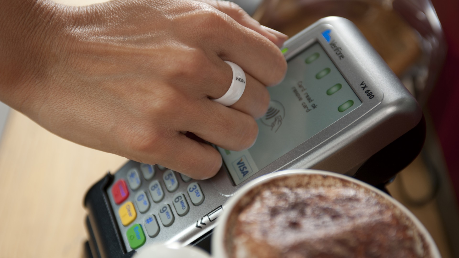The Kerv Contactless Ring