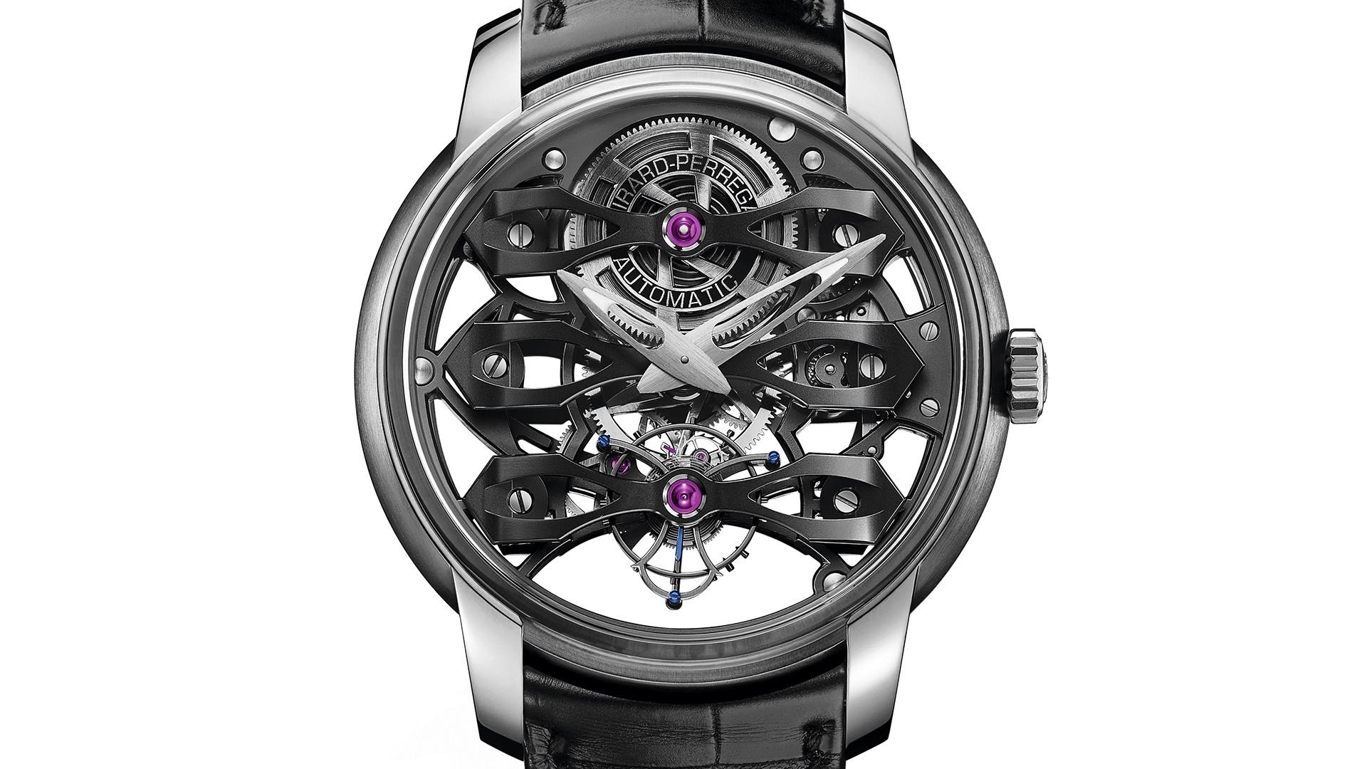 Girard-Perregaux Neo-Tourbillon With Three Bridges Skeleton watch