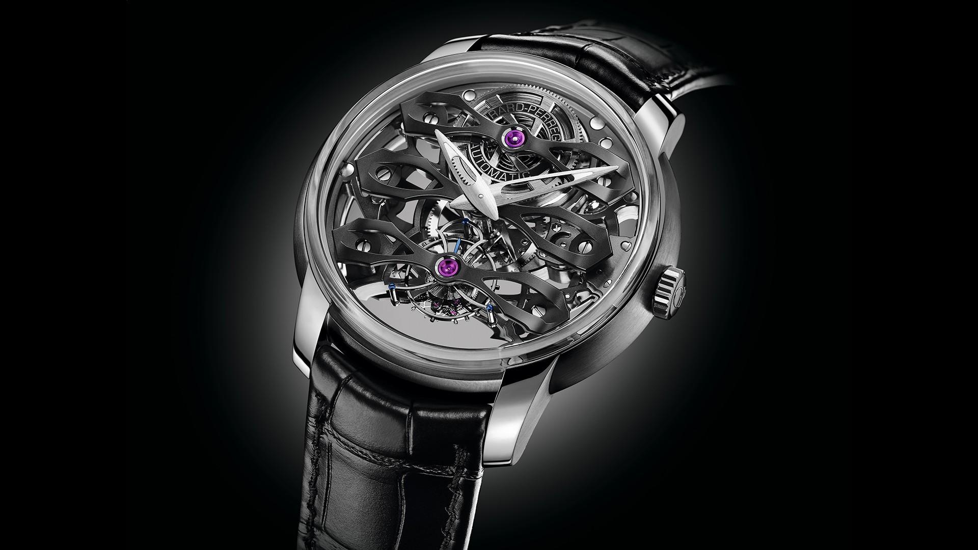Girard Perregaux Neo-Tourbillon With Three Bridges Skeleton watch