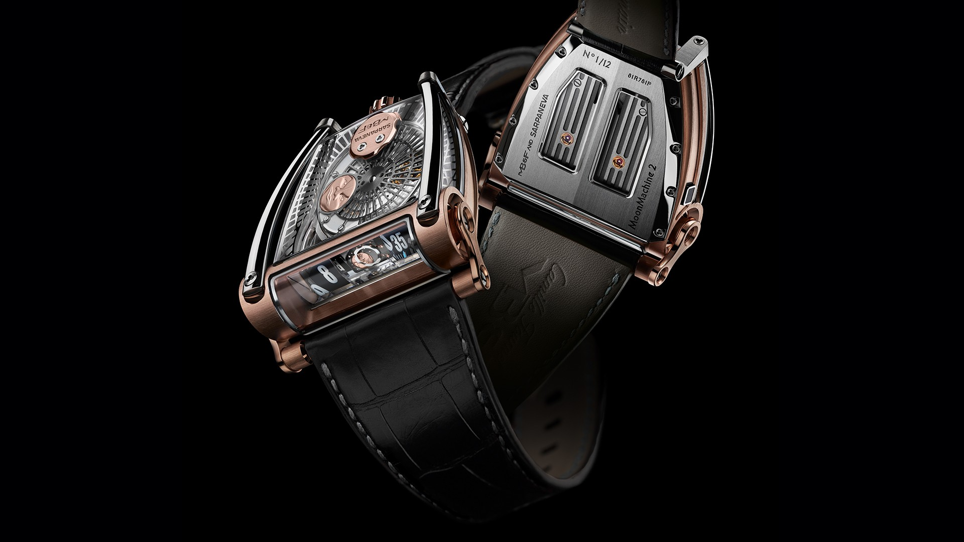 MB&F Moonmachine 2 watch SIHH 2018