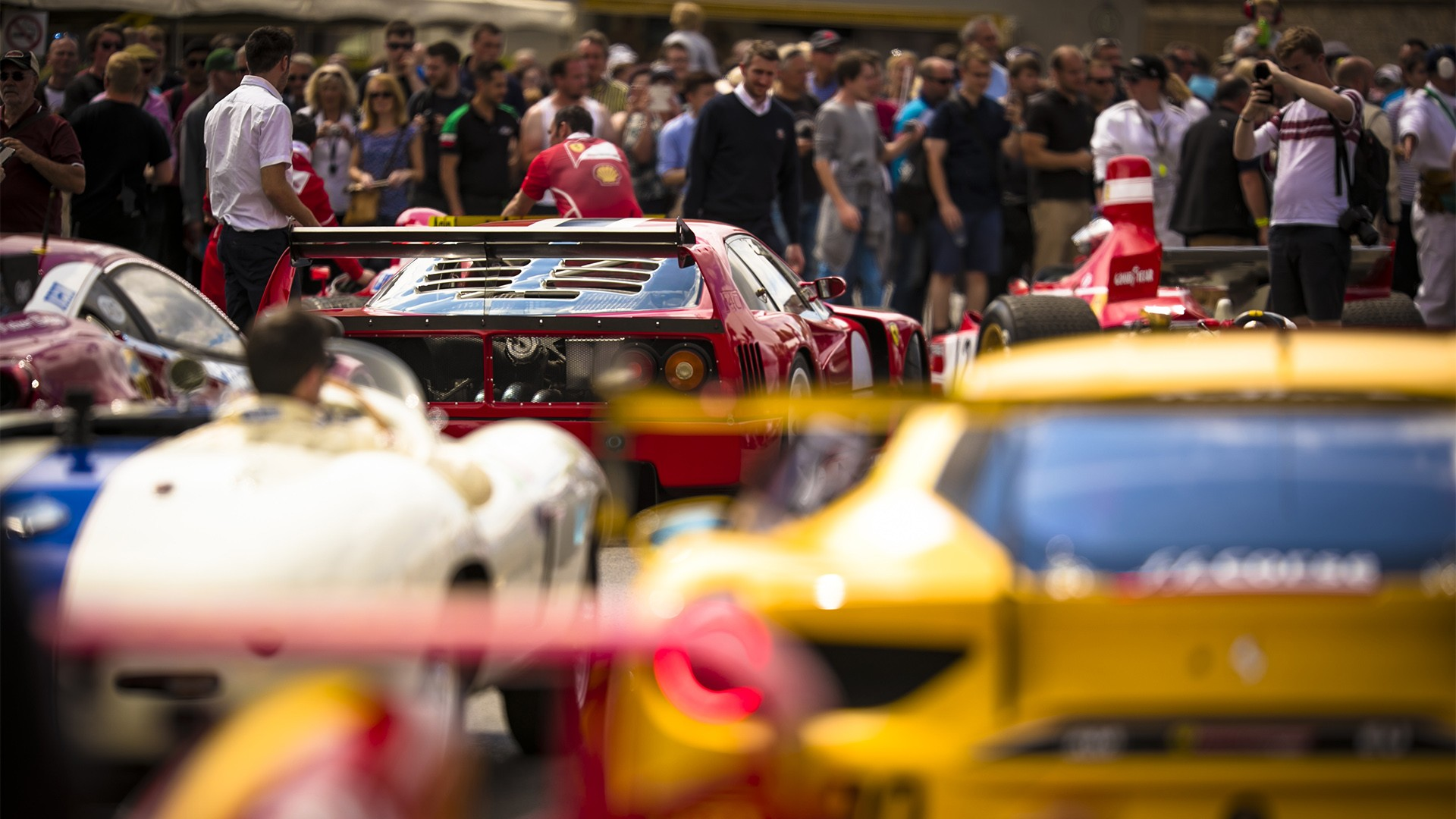 Goodwood Festival of Speed Main Paddock