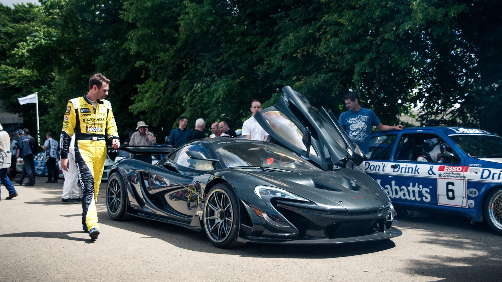Goodwood Festival of Speed Michelin Supercar Paddock