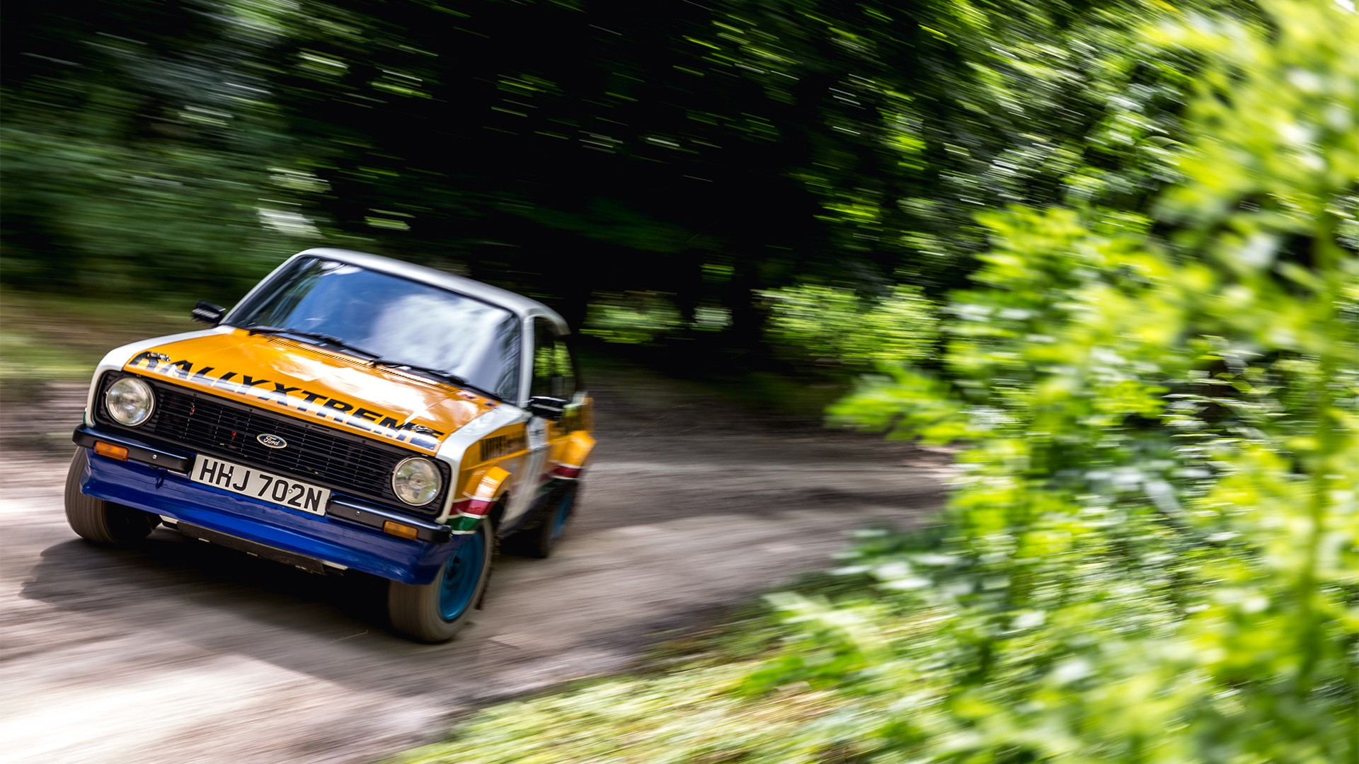 Goodwood Festival of Speed Forest Rally Stage