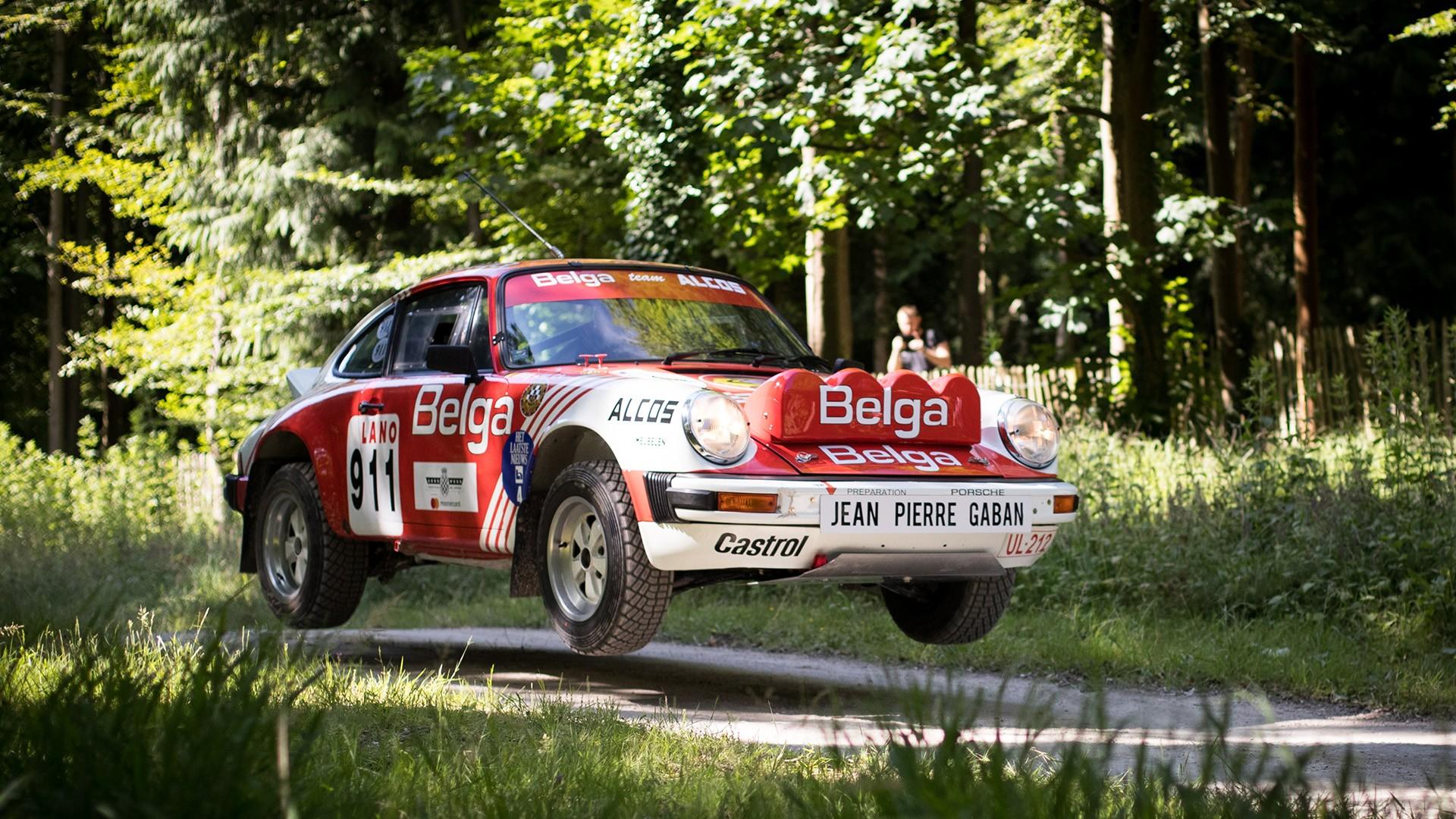 Goodwood Festival of Speed Porsche 70th Anniversary