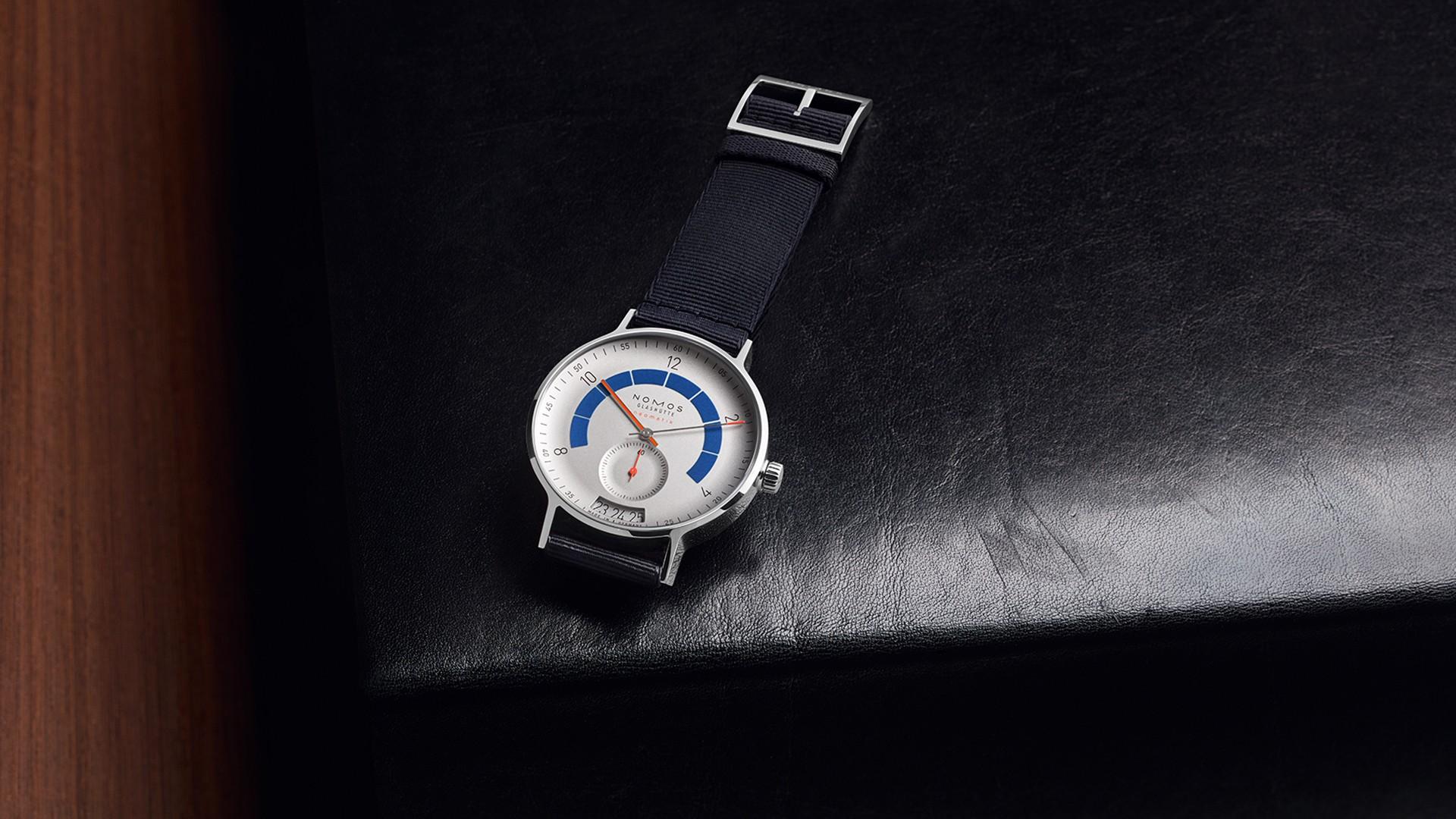 Nomos Glashütte Autobahn watch Baselworld 2018