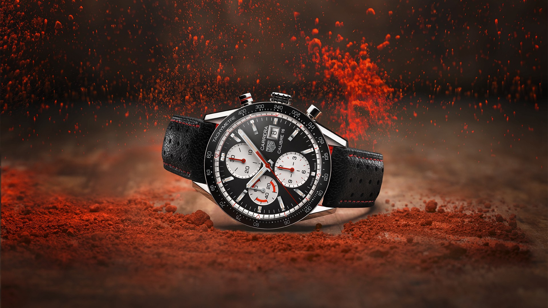 Tag Heuer Carrera Calibre 16 Chronograph watch Baselworld 2018