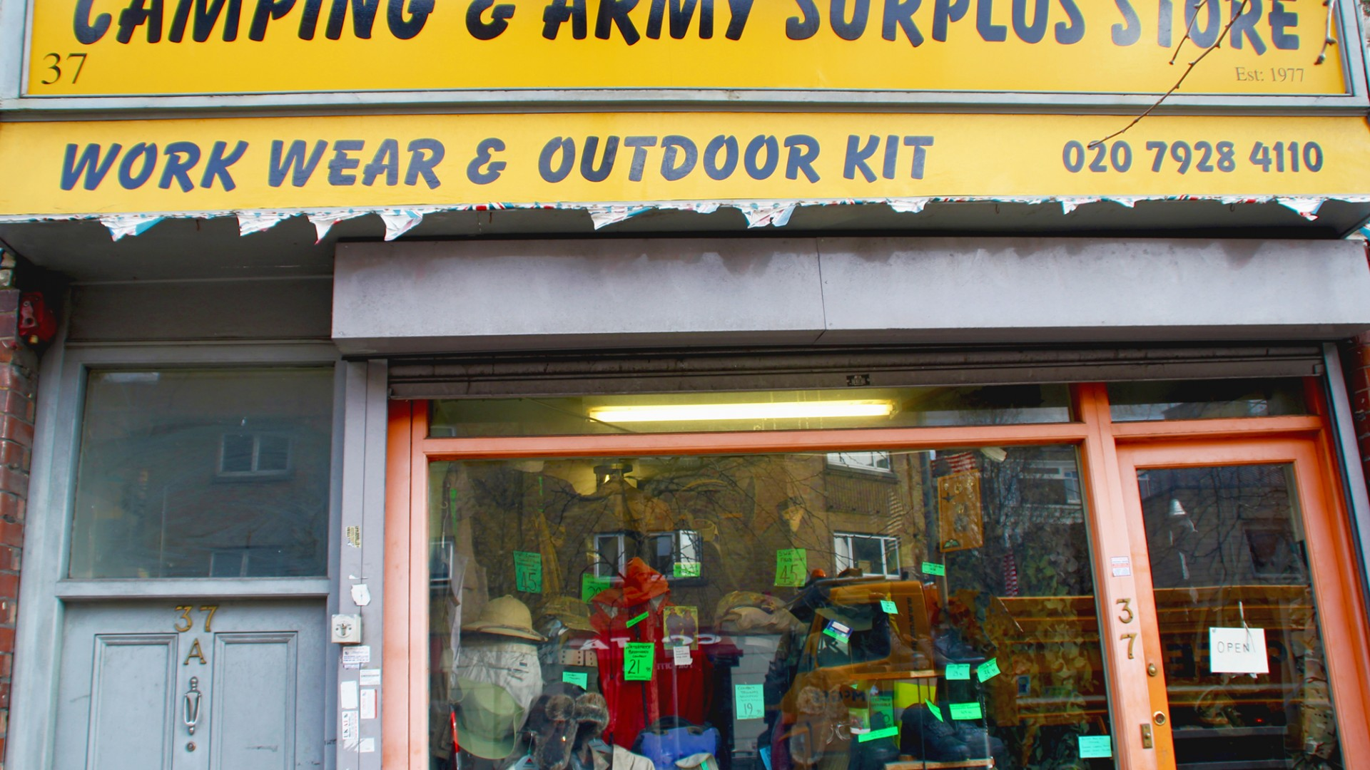 Camping and Army Surplus