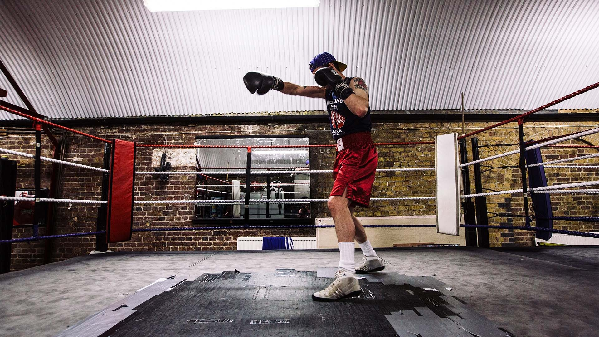 Fitzroy Lodge Boxing Club.
