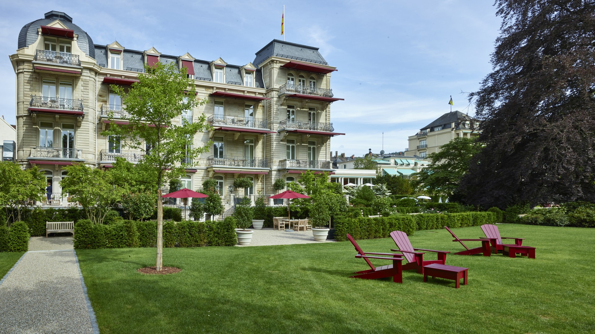 Villa Stephanie at Brenners Spa and hotel, Baden-Baden, Germany