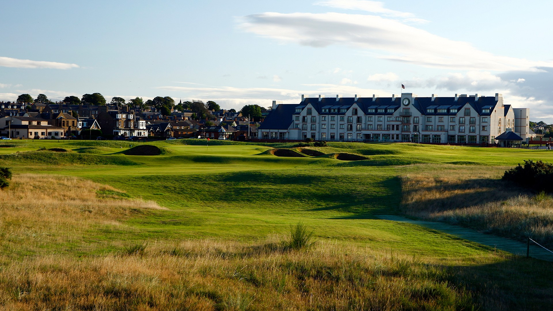 Carnoustie Golf Links 16th Hole