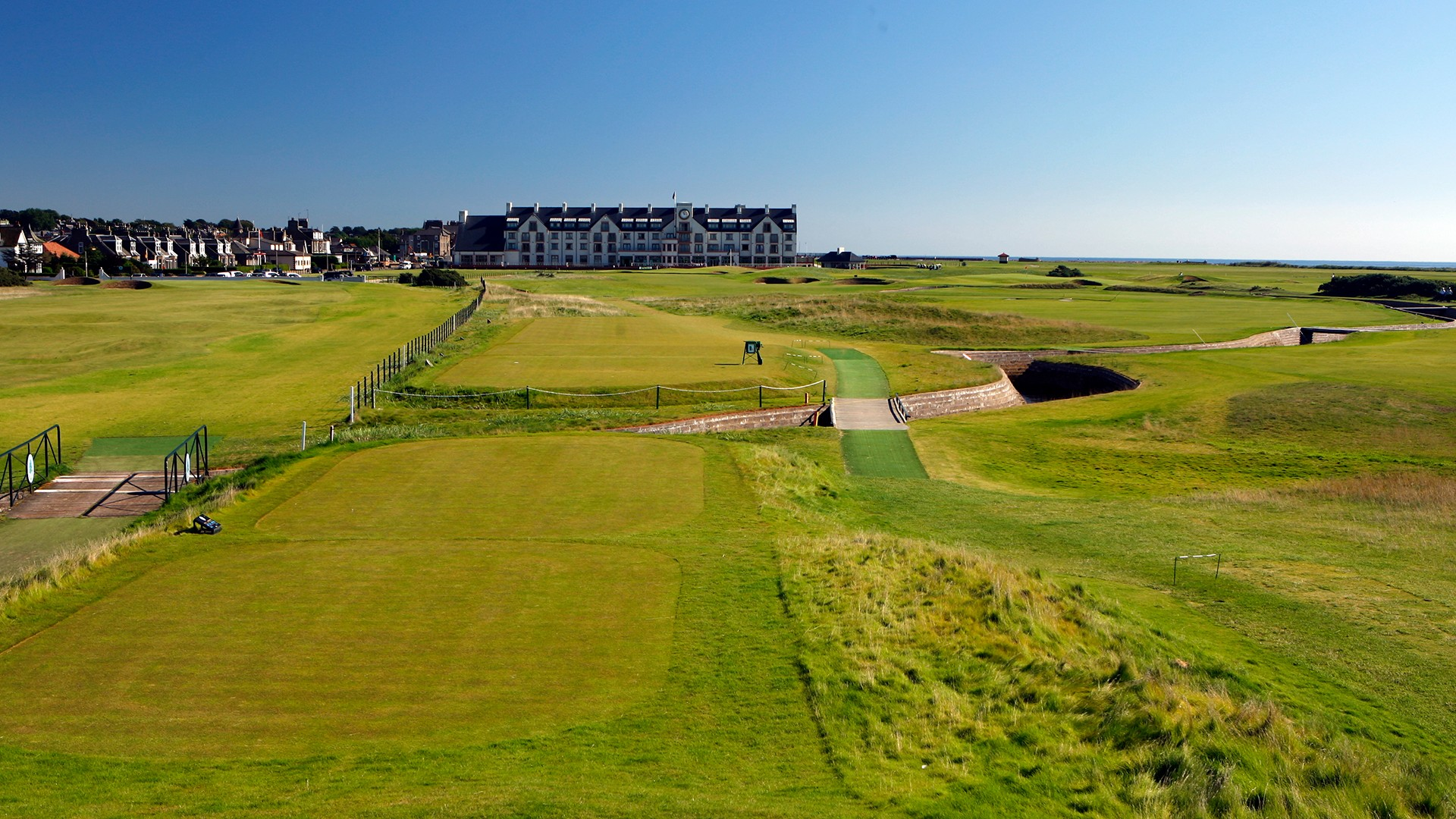 Carnoustie Golf Links 18th Hole