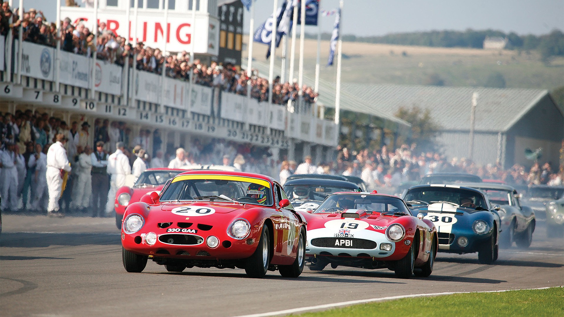The Goodwood Revival Is An All Encomping Spectacle Of Thrilling On Track Action Stunning Aerial Displays Music Food And Fashion