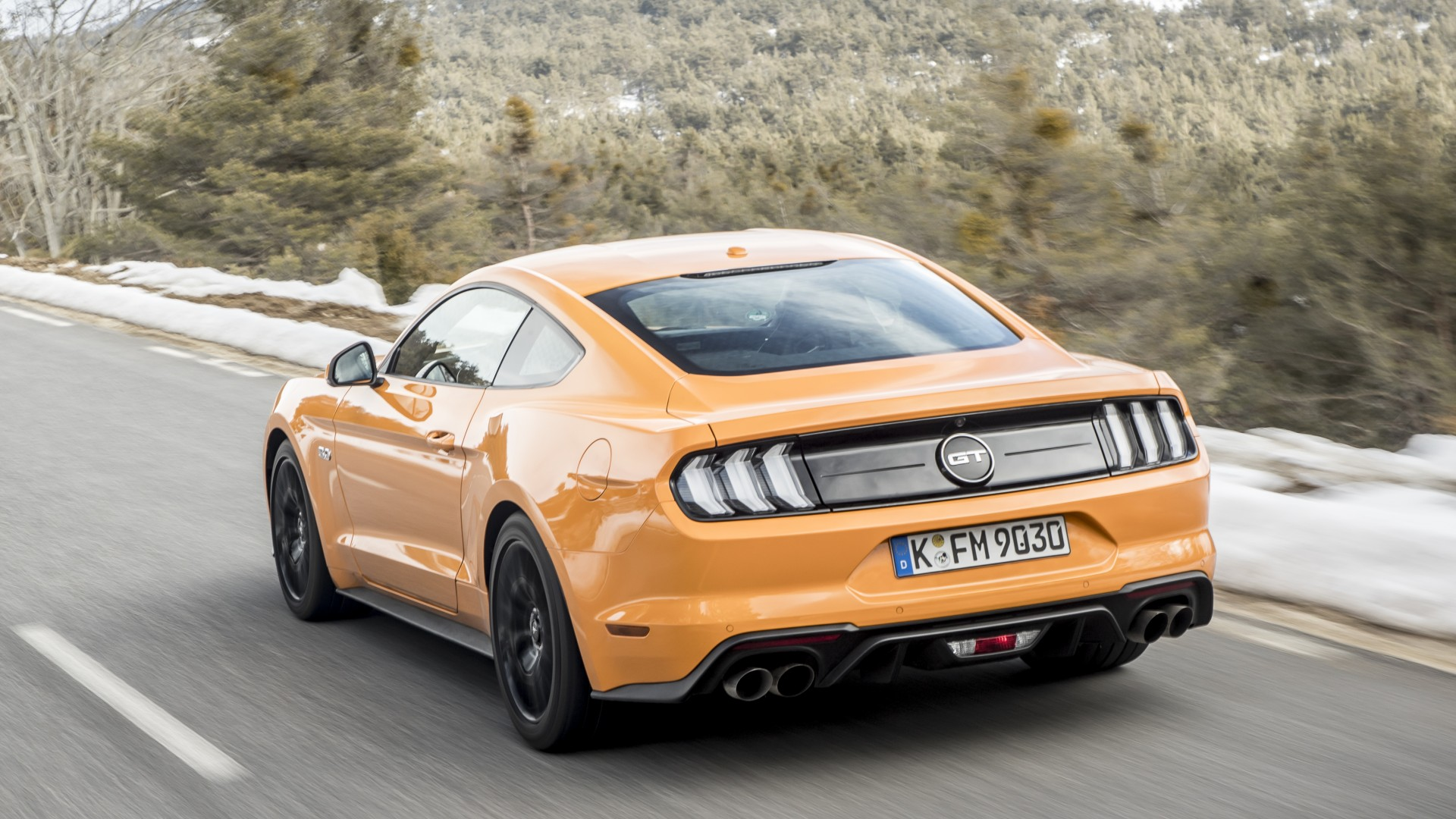 Ford Mustang 2018   Square Mile