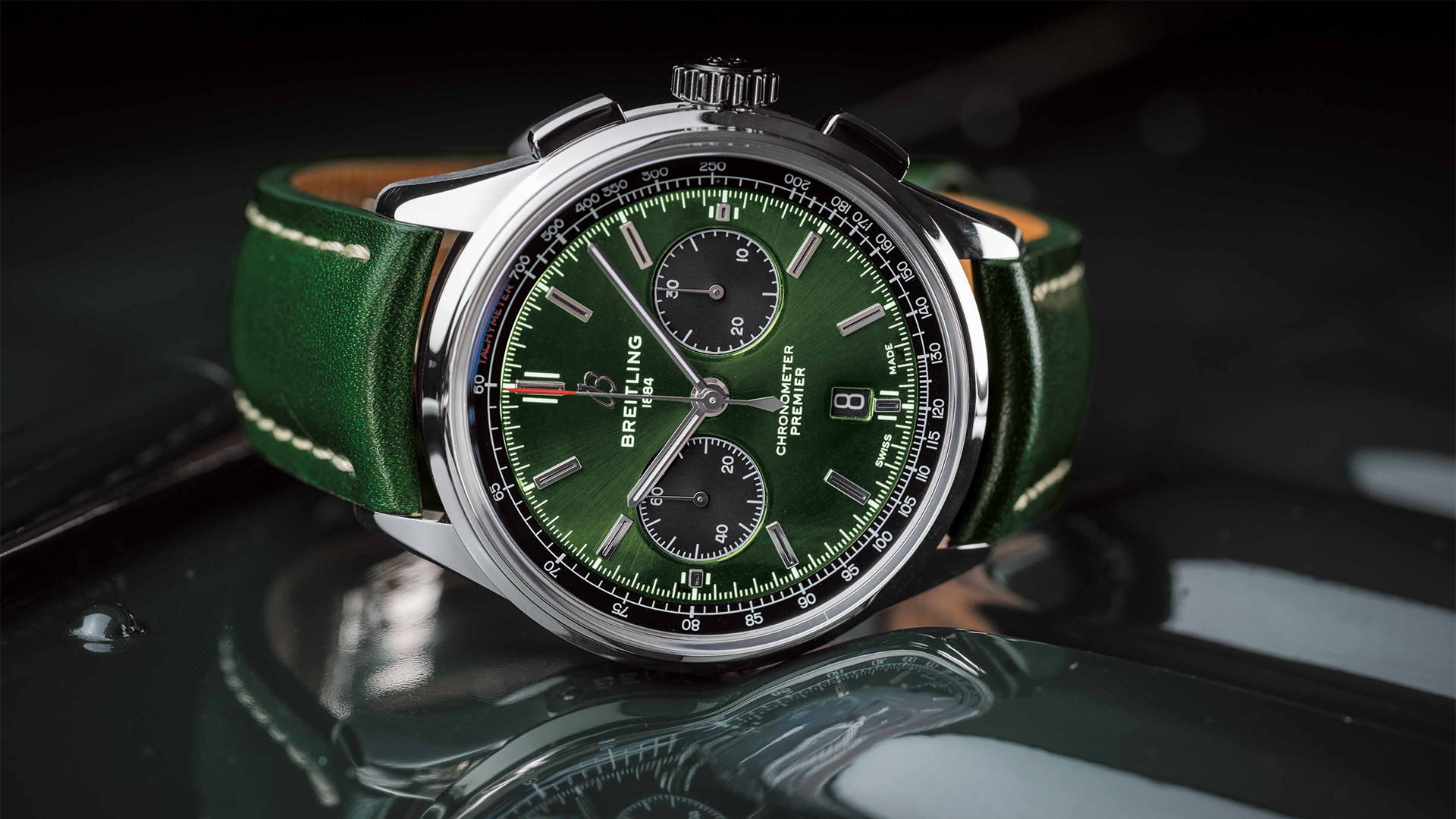 Breitling Premier BO1 Chronograph Bentley Racing Green