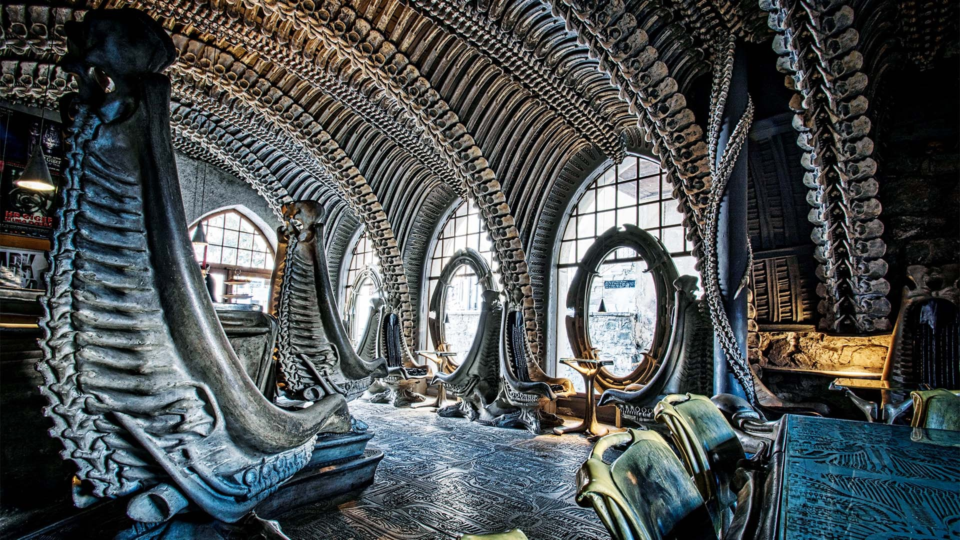 HR Giger Bar, Gruyères