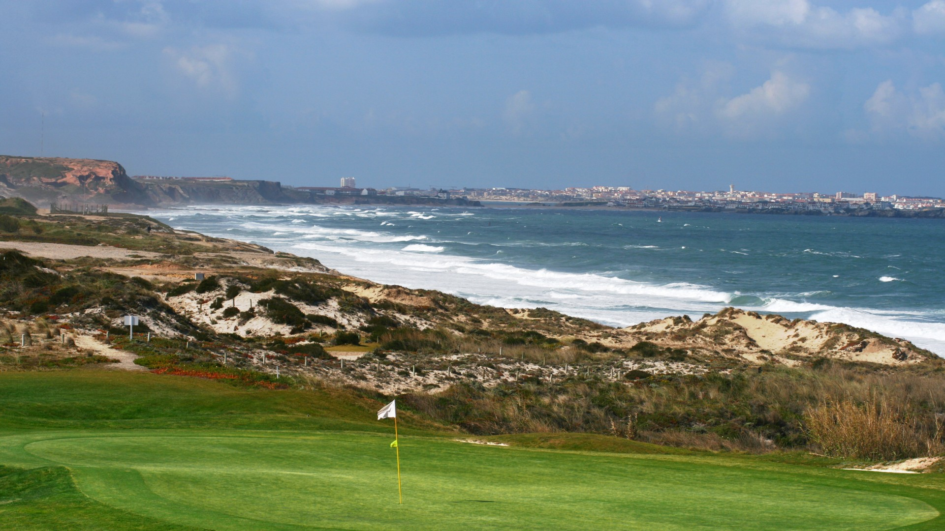 Praia D'el Rey golf course Lisbon Portugal