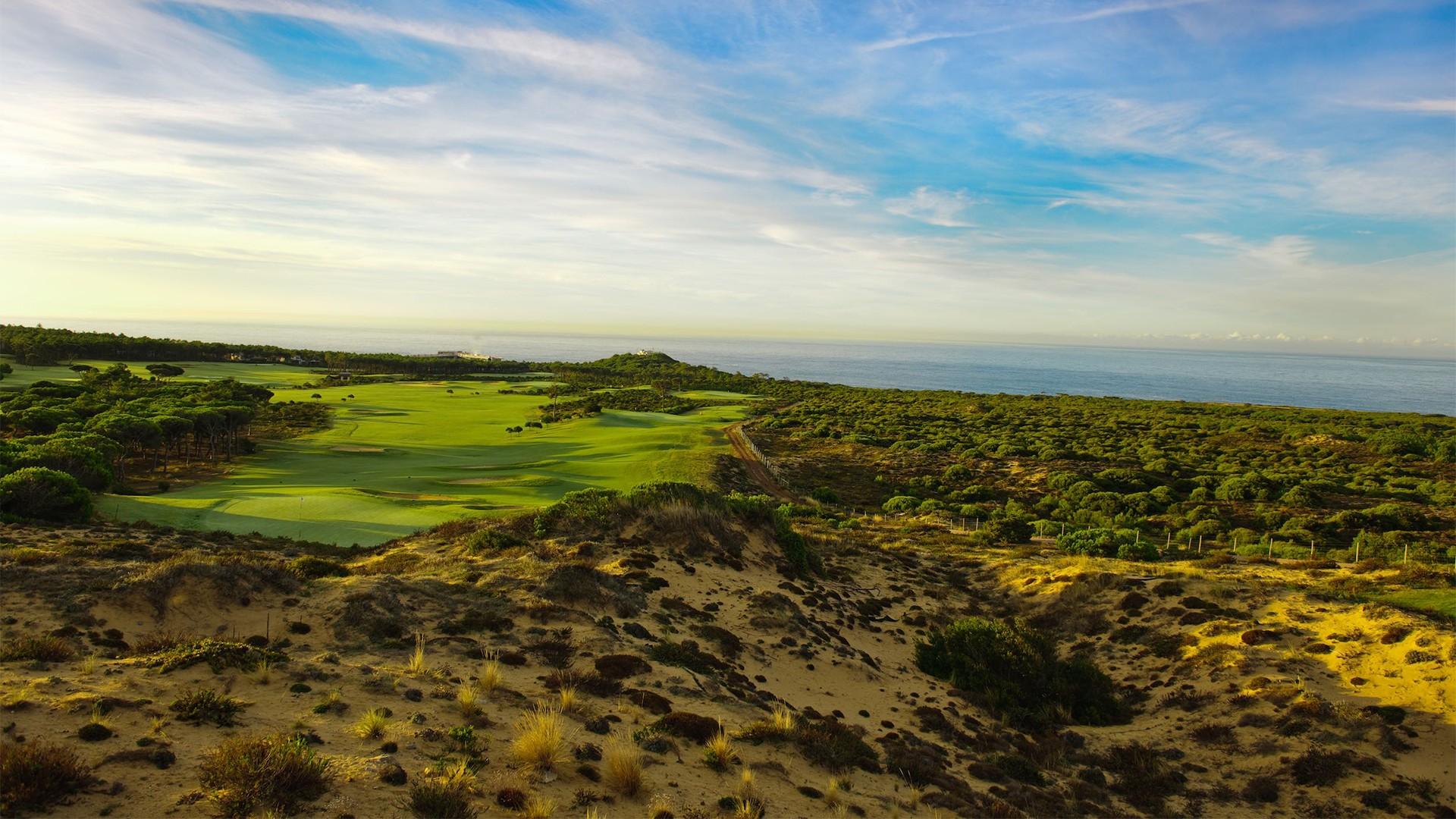 Oitavos Dunes golf course Lisbon Portugal