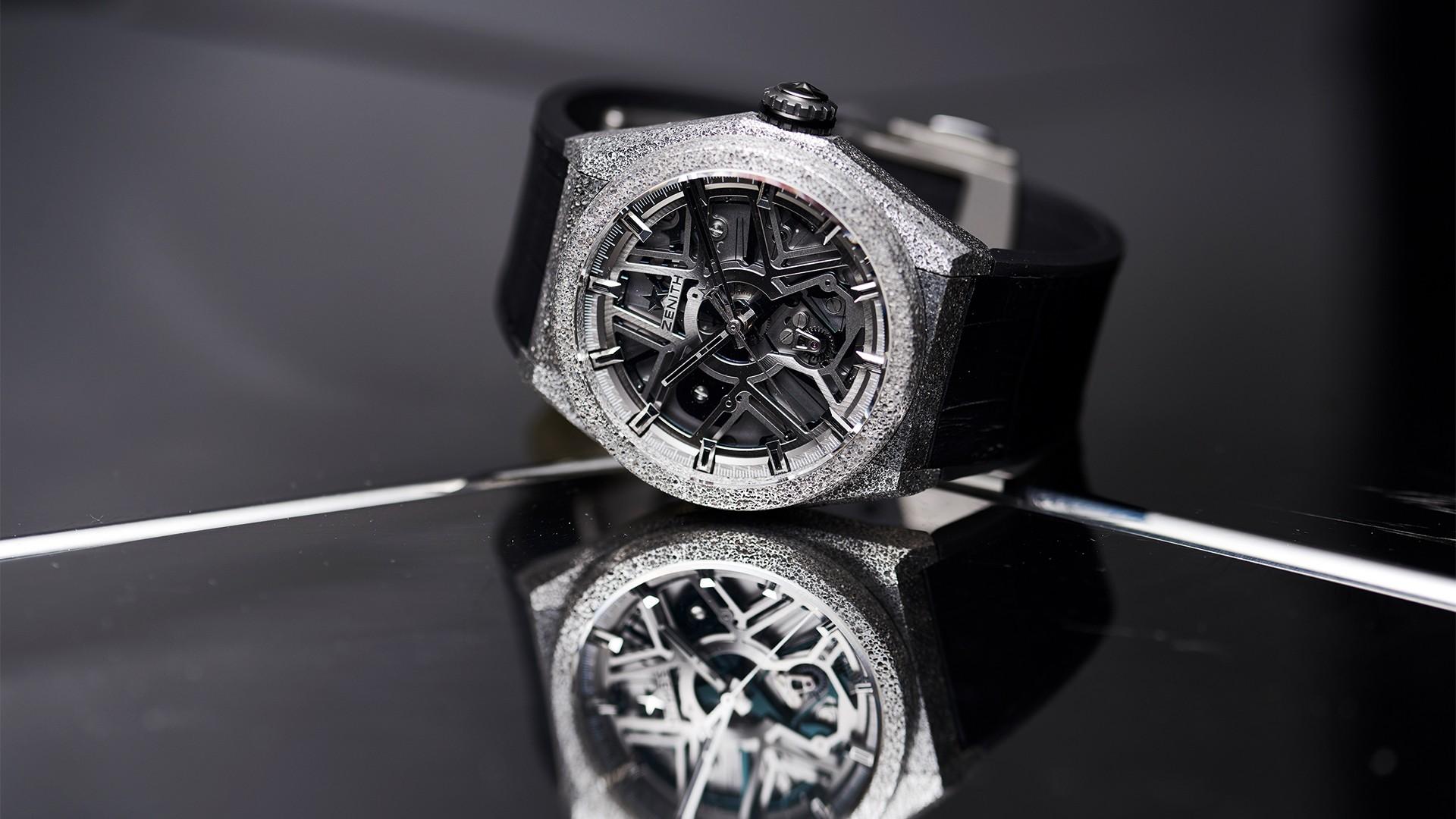 Zenith Defy Lab watch silicon movement