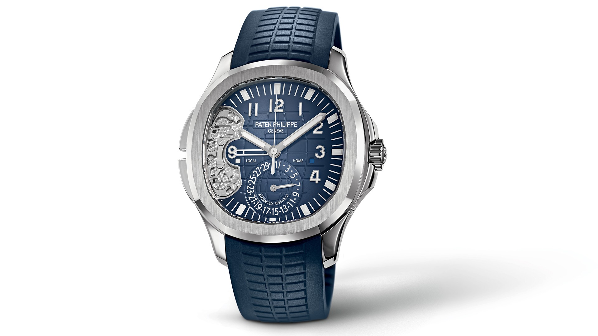 Patek Philippe 5650G watch silicon movement