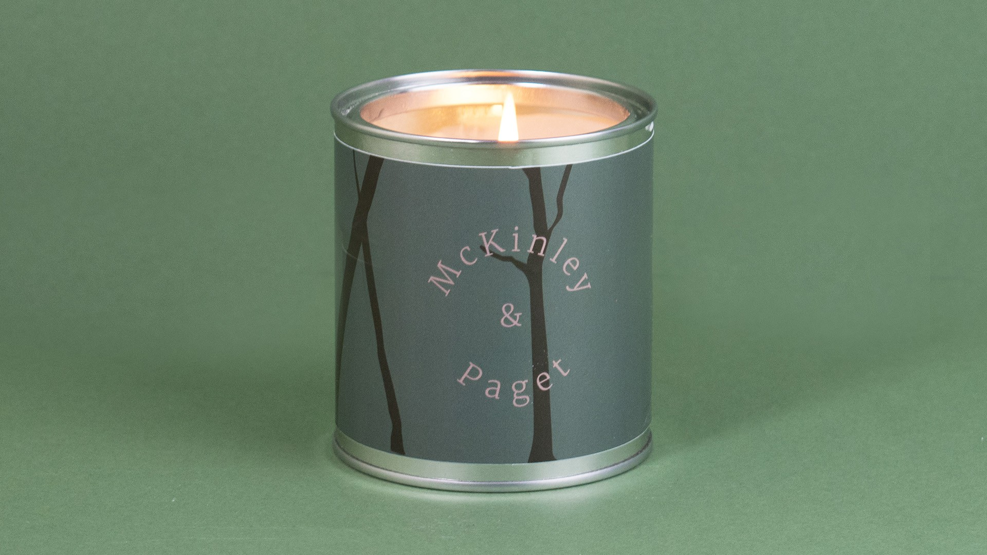 McKinley & Paget's Cabin Candle