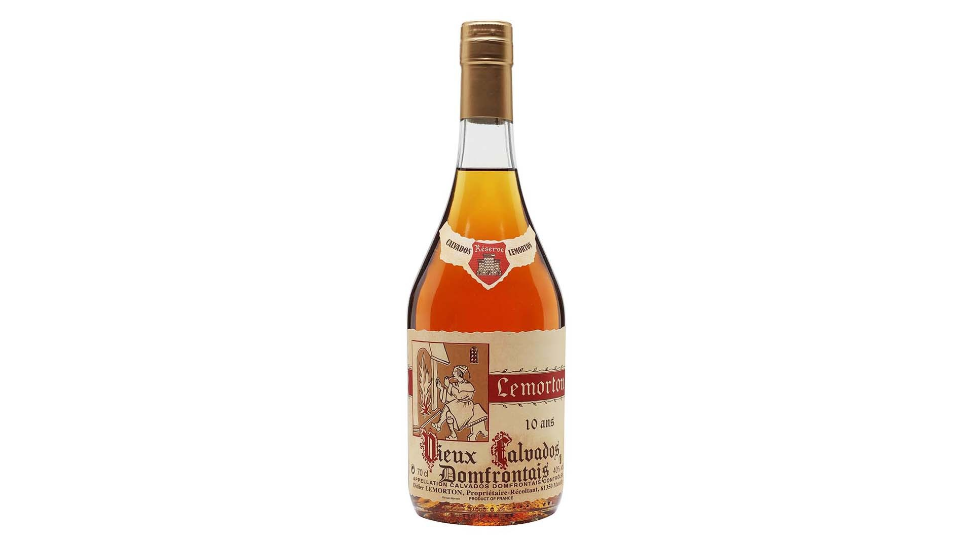 DIDIER LEMORTON 10 YEAR OLD DOMFRONTAIS CALVADOS