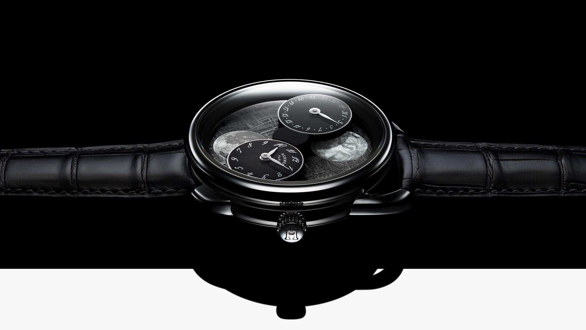 Hermès Arceau L'Heure De La Lune watch