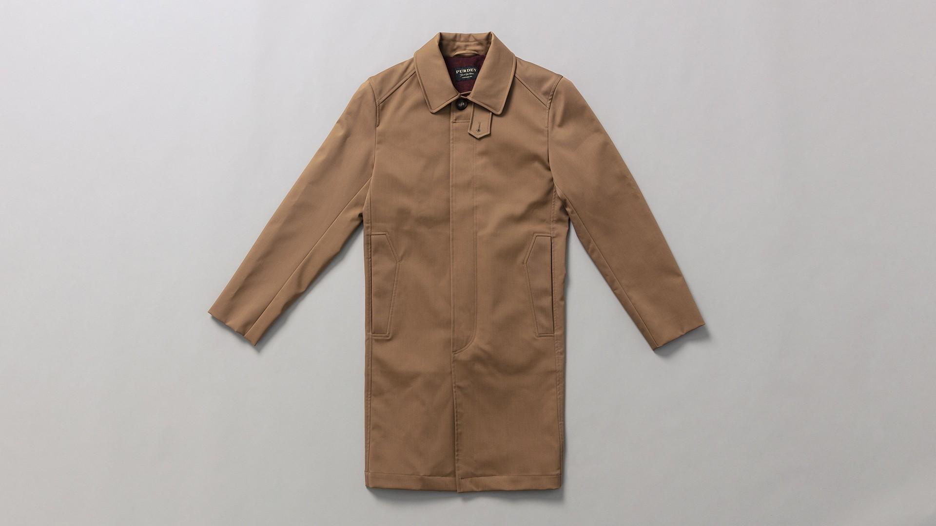 Purdey Men's Mayfair raincoat
