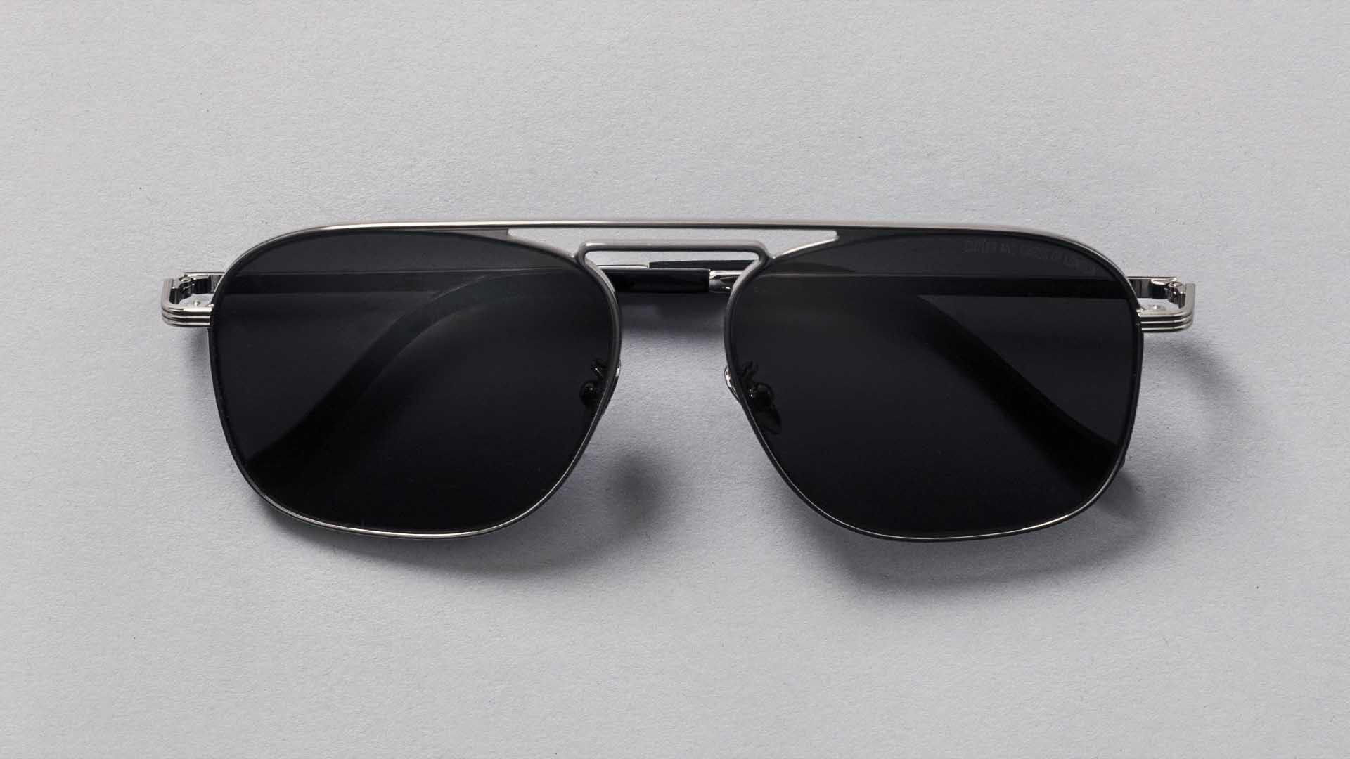 Cutler & Gross 1310-04 Gunmetal sunglasses