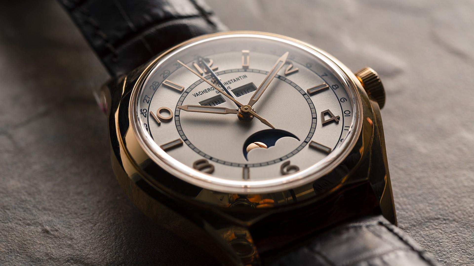 Best rose gold watches 2019, Vacheron Constantin FiftySix Complete Calendar
