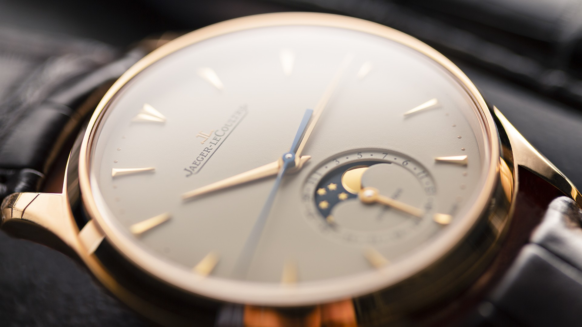 Best rose gold watches, Jaeger-LeCoultre Master Ultra Thin Moon