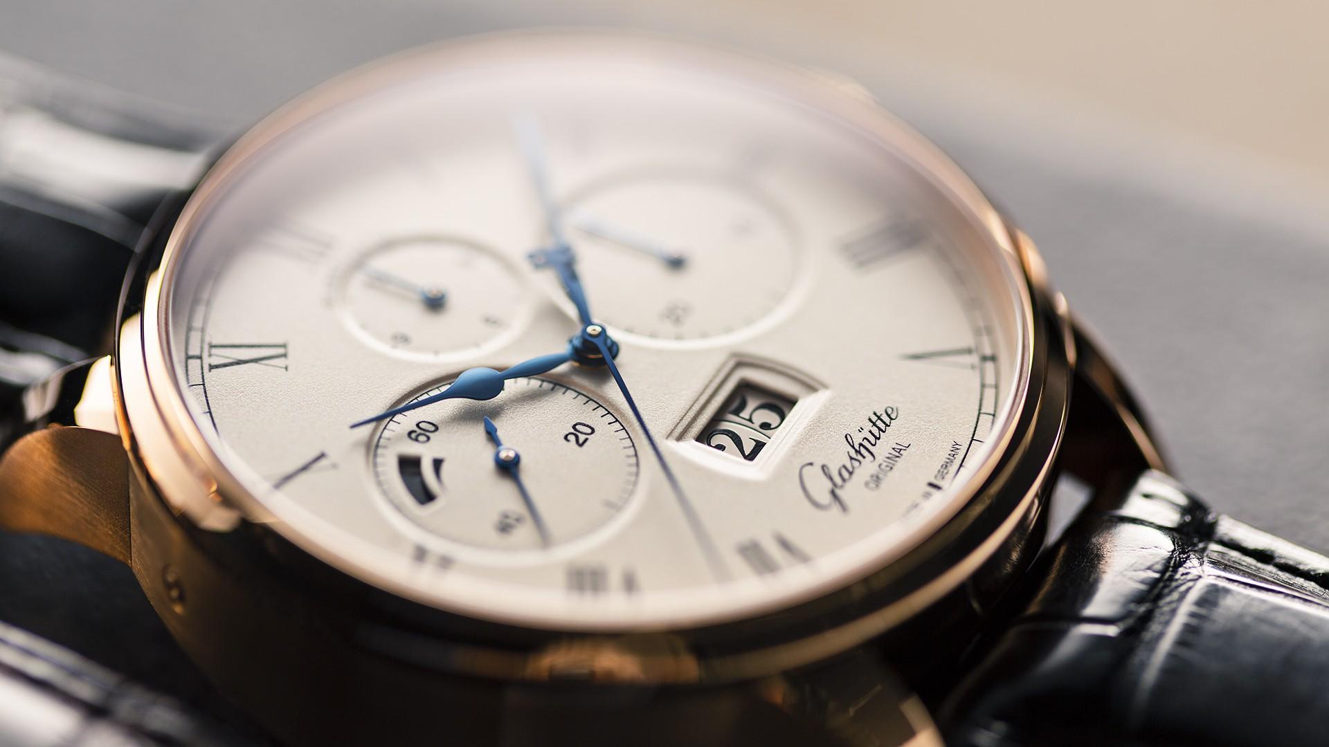 Best rose gold watches, Glashütte Original Senator Chronograph