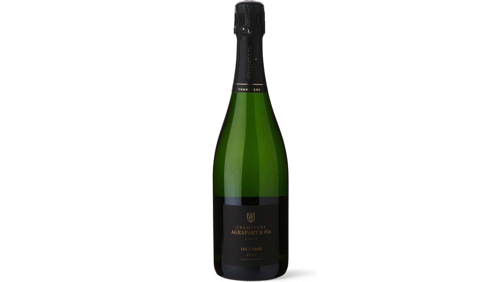 Les 7 Cru Blanc de Blanc NV champagne by Agrapart Et Fils