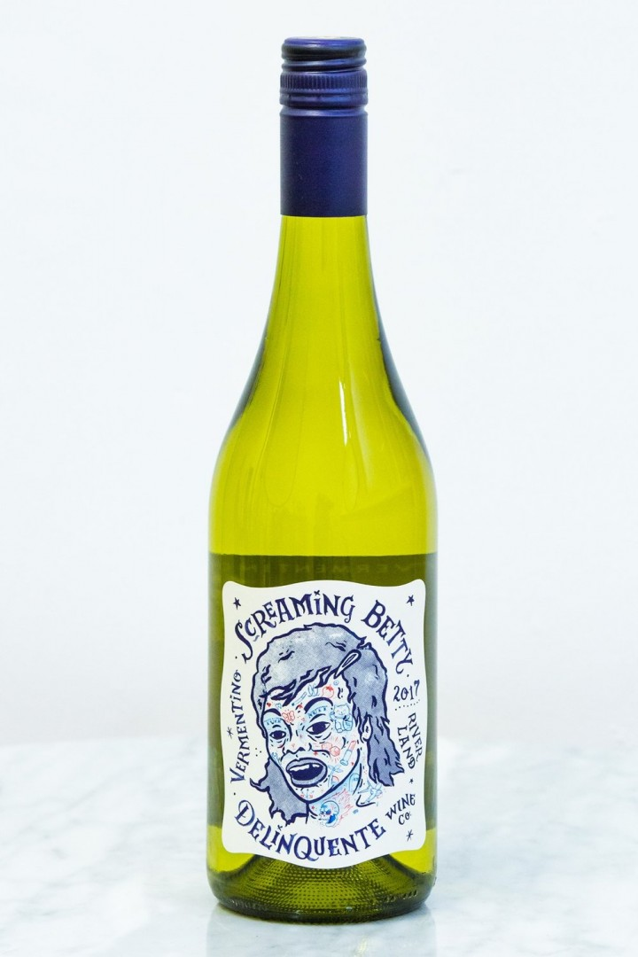 Screaming Betty Vermentino by Delinquent Wine Co