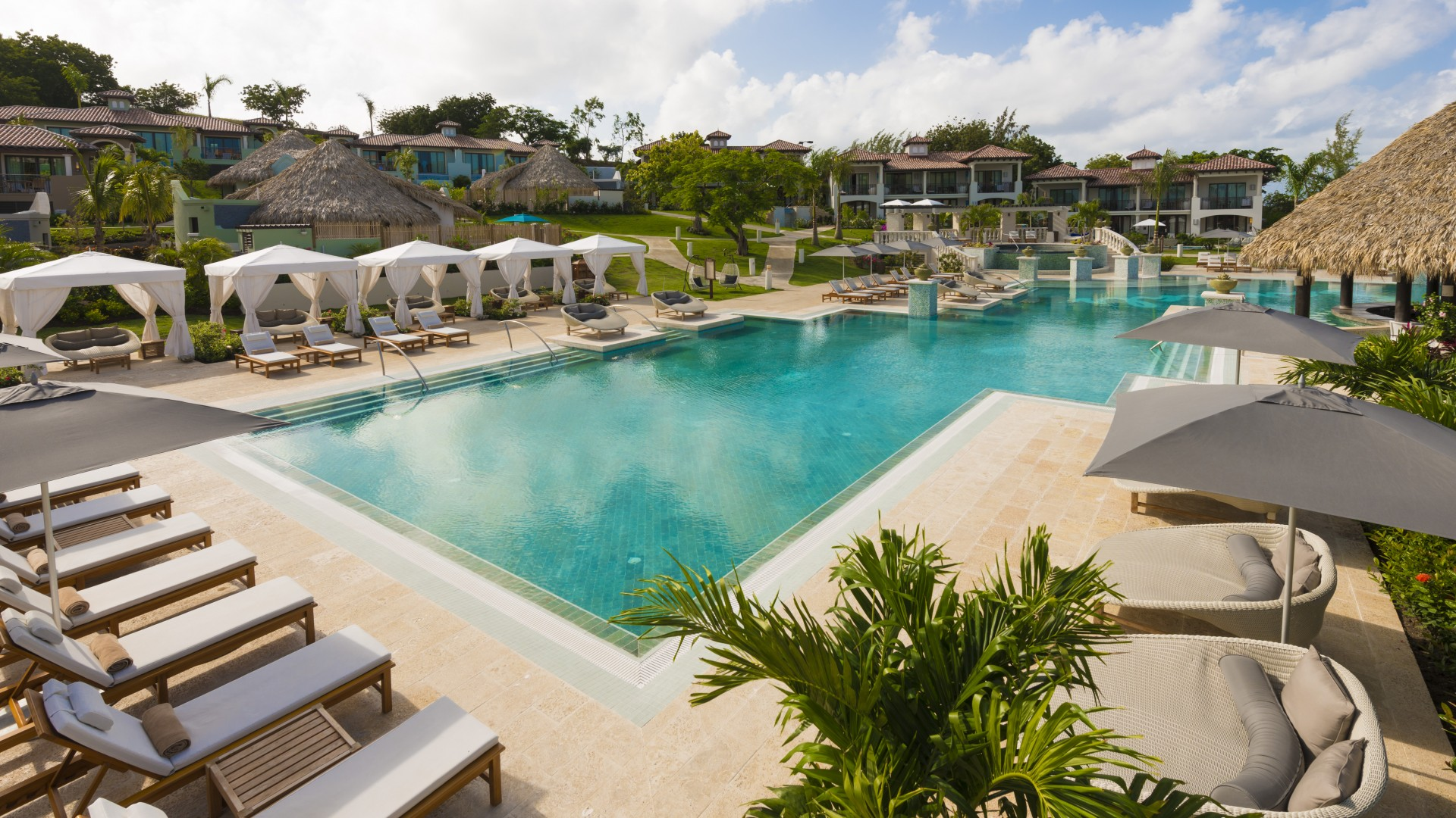 A pool at Sandals Grenada Resort & Spa