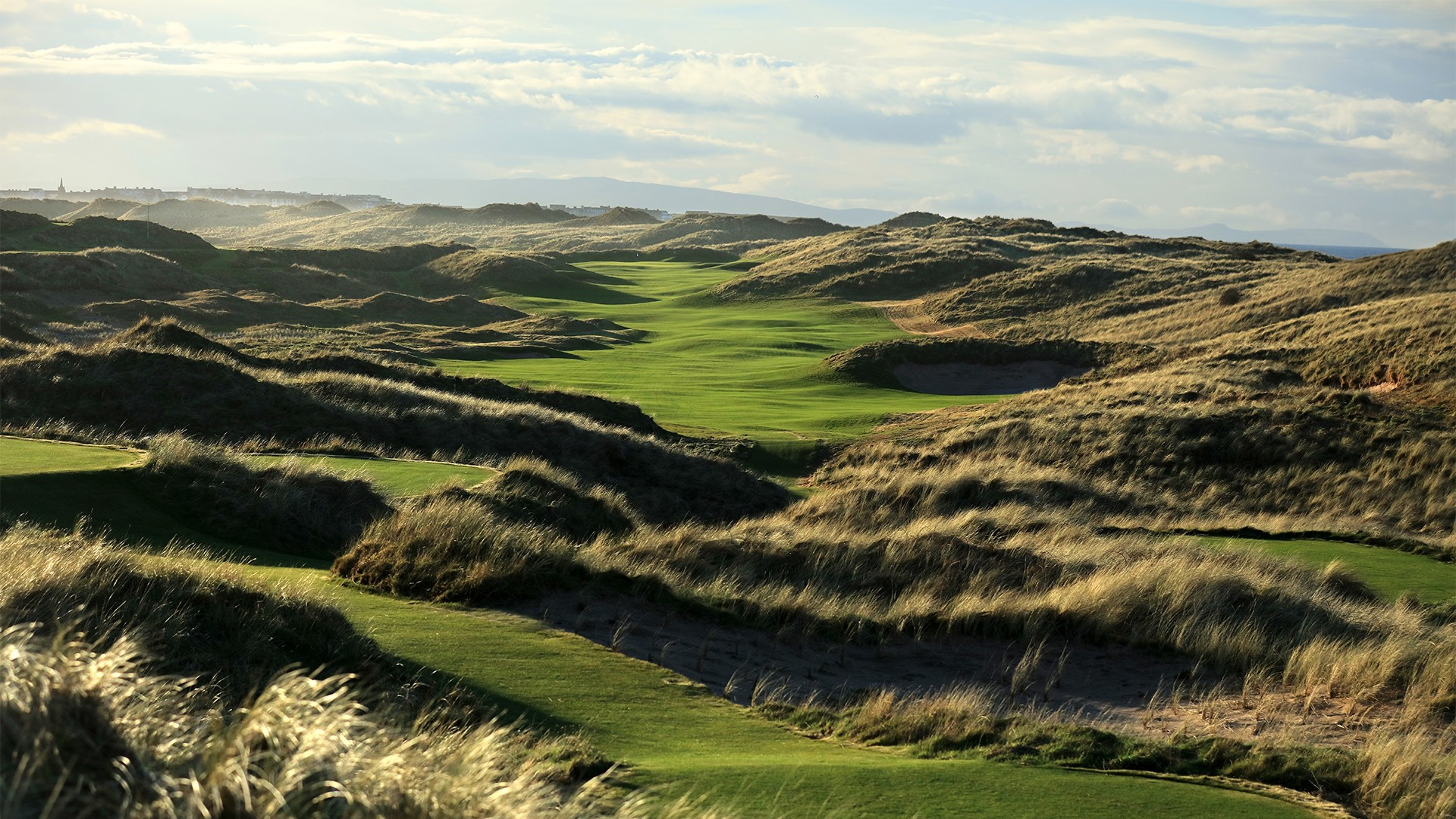 Royal Portrush, 7th hole, Dunluce Links golf course