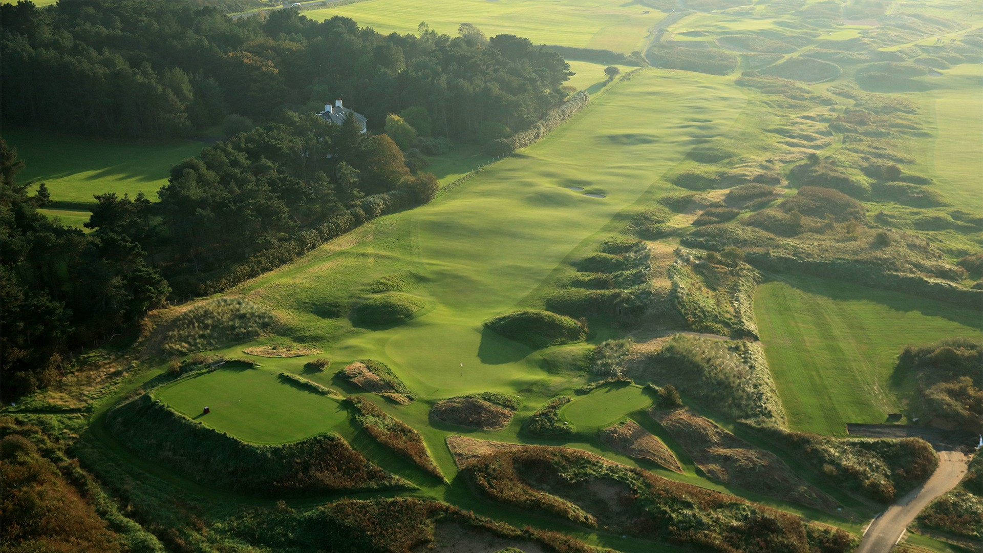 Royal Portrush, 4th hole, Dunluce Links golf course