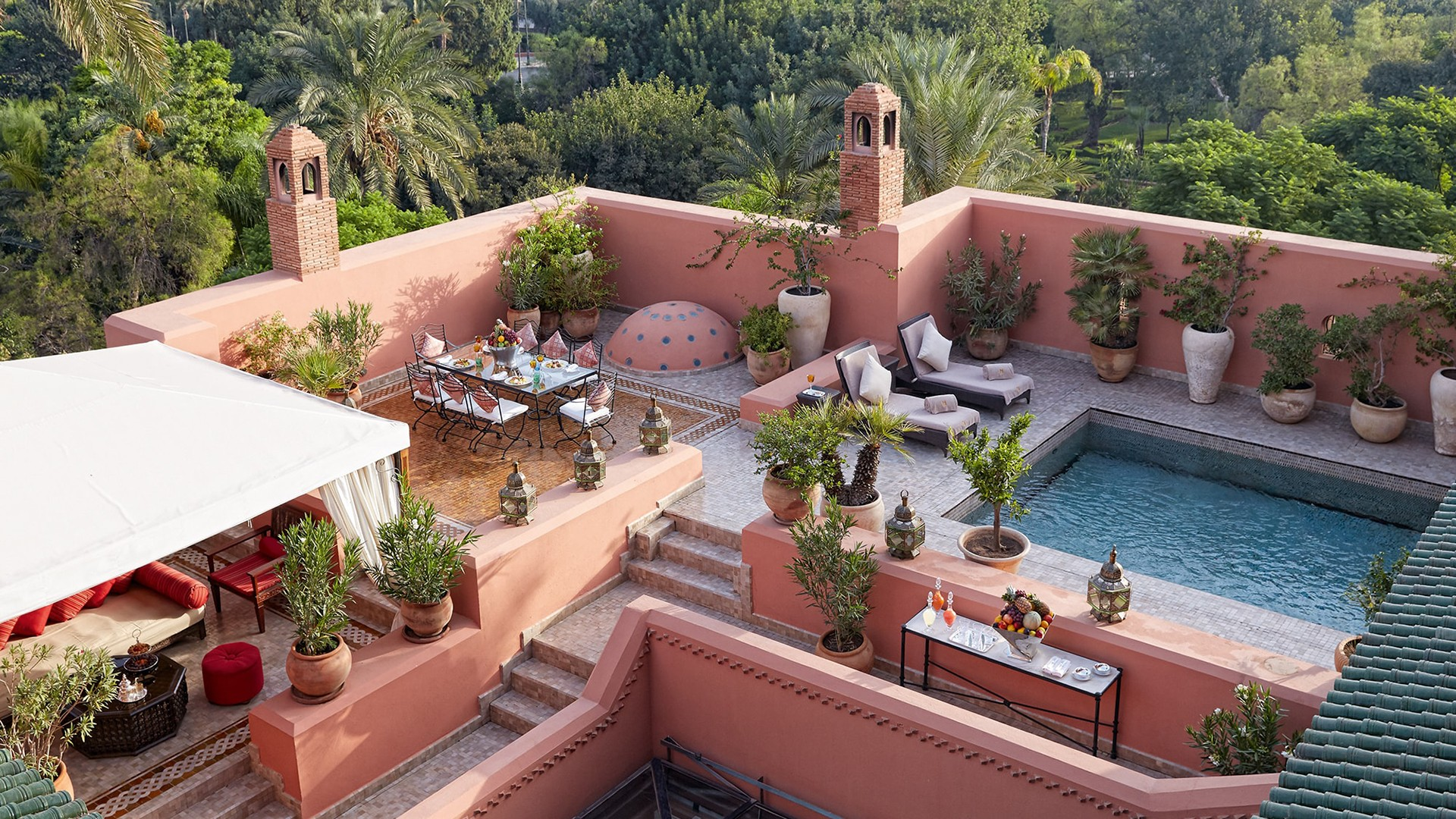 The Grand Riad, The Royal Mansour, Marrakech