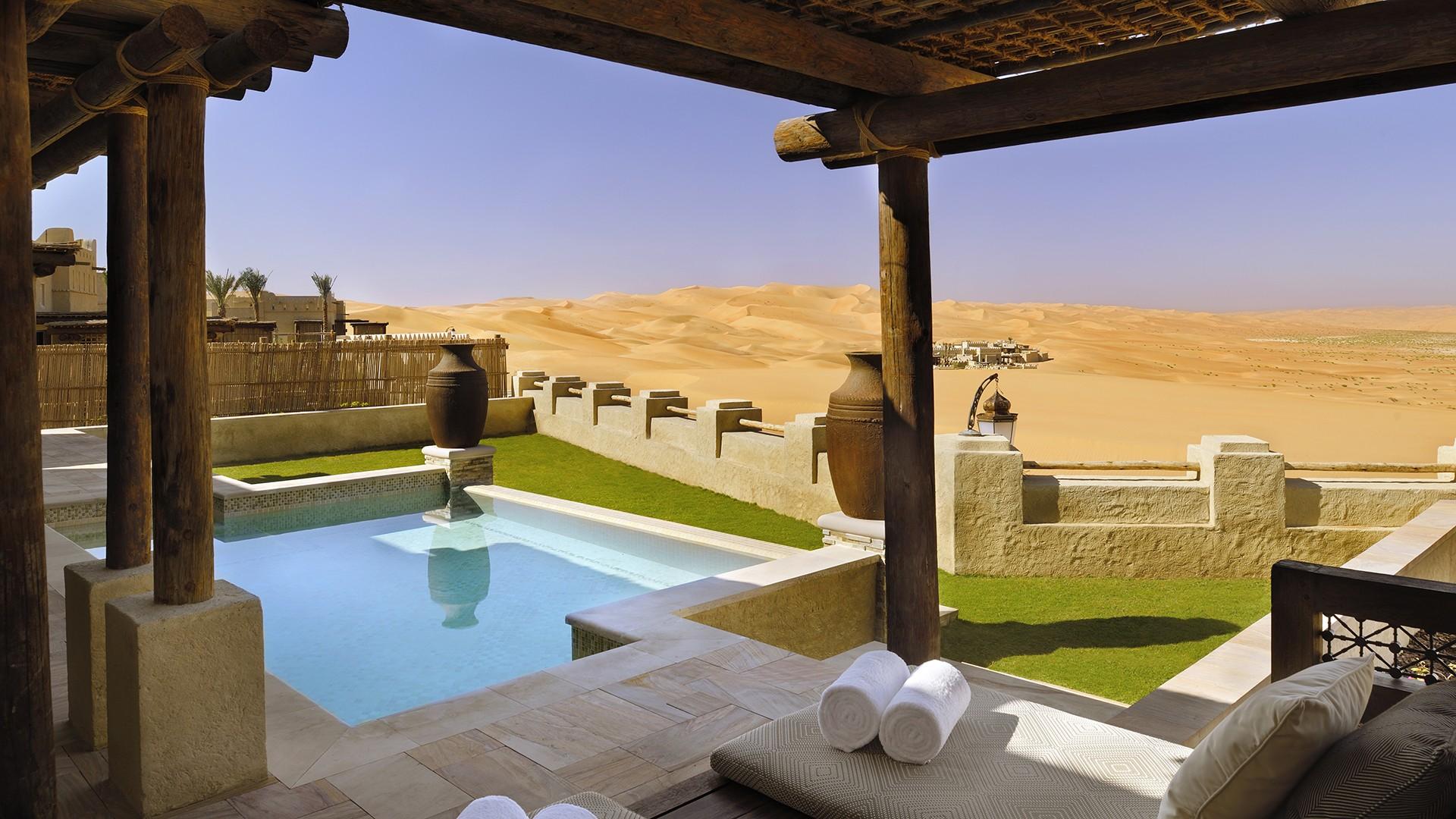 Anantara family pool villa, Qasr Al Sarab by Anantara in the Liwa Desert