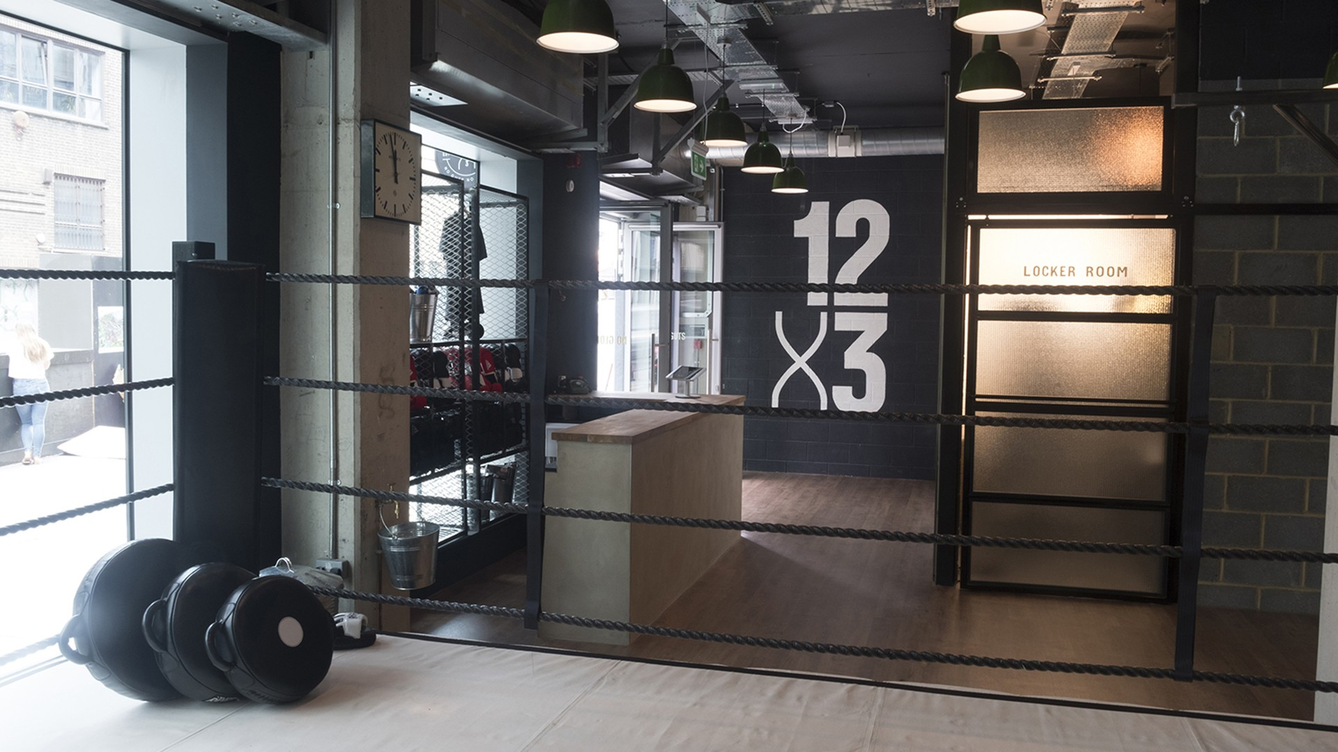 12x3 Boxing Gym Aldgate and Paddington Interior