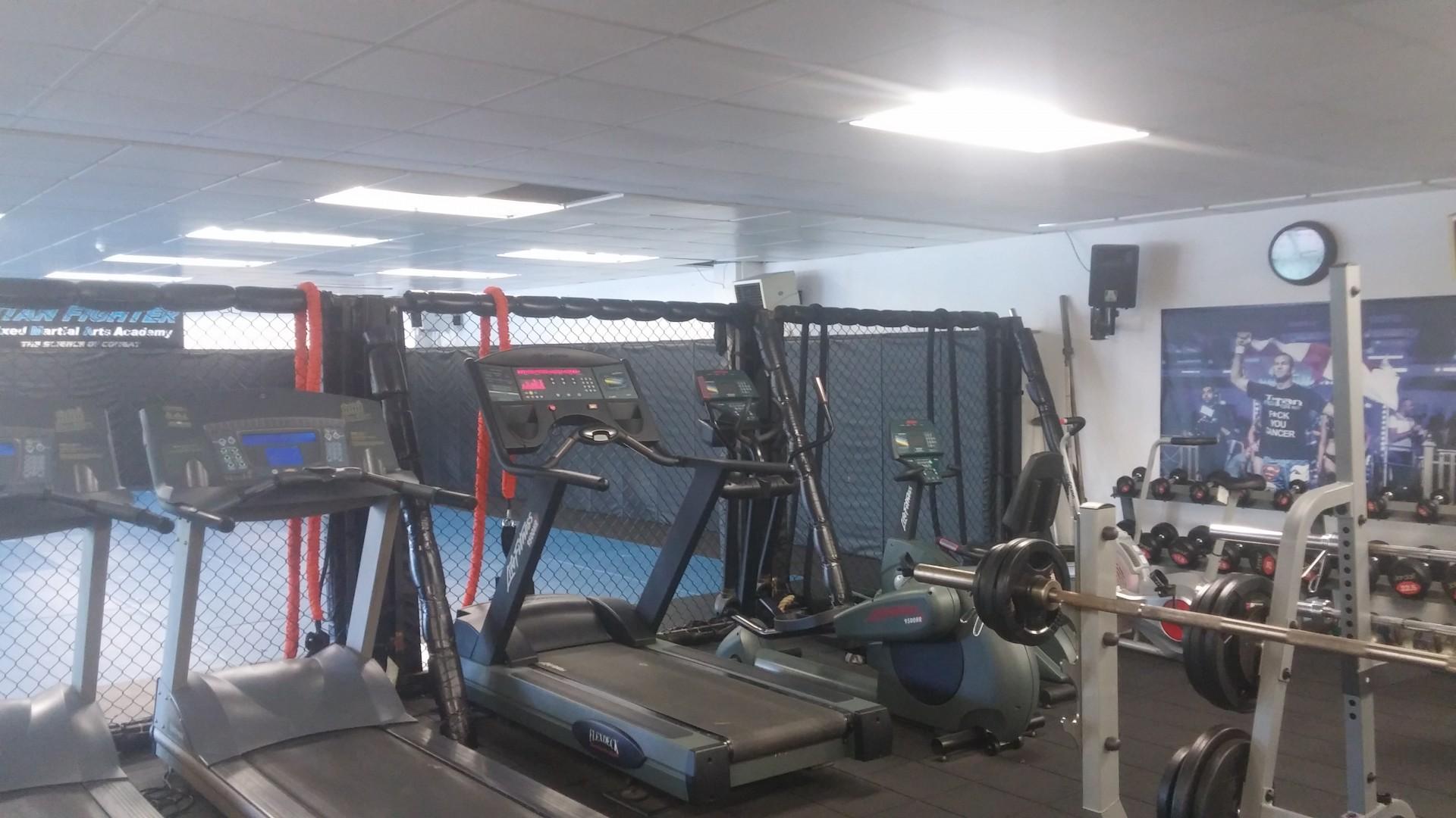 Interior photo of Titan Gym North London MMA