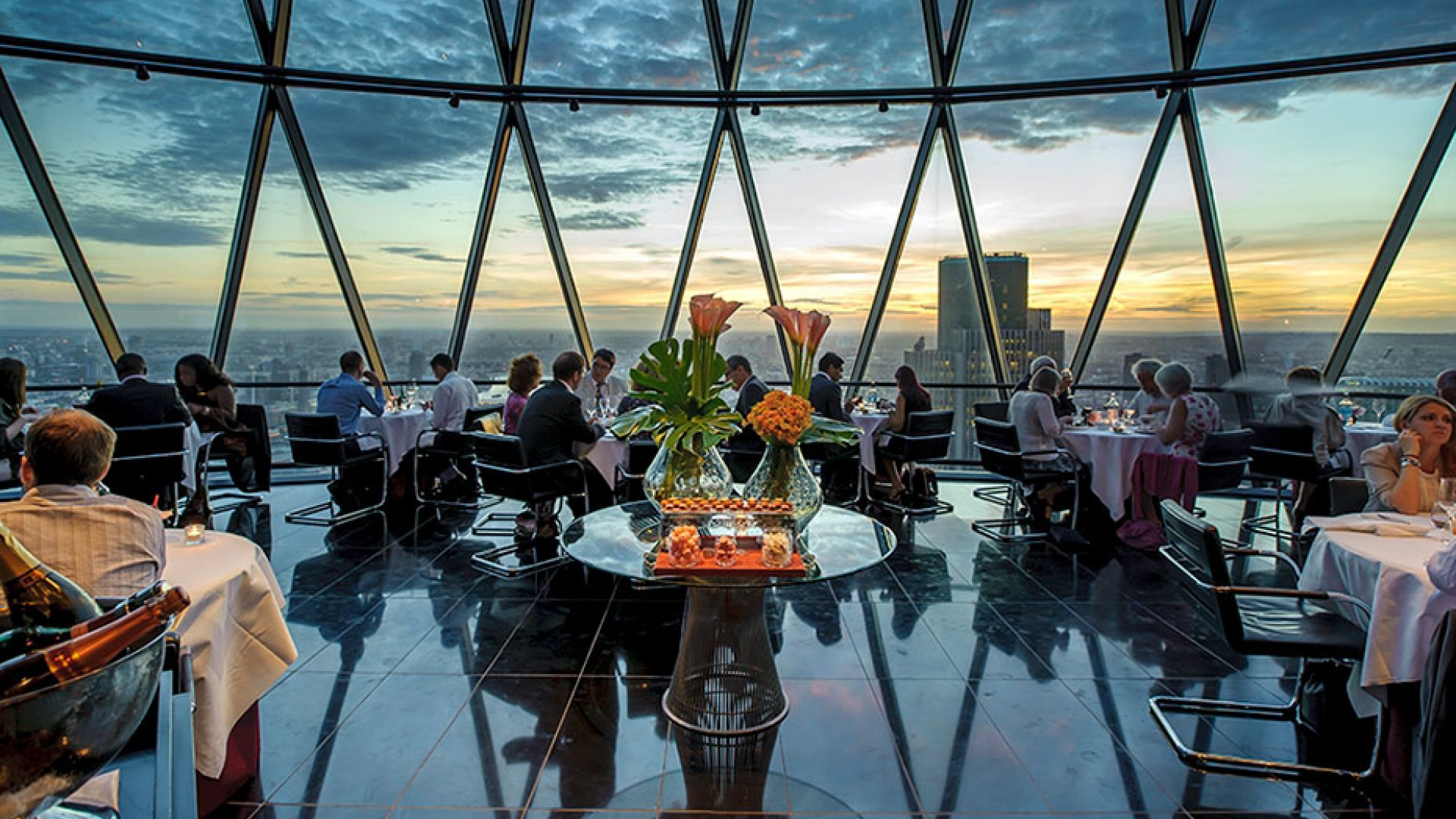 Searcys, The Gherkin