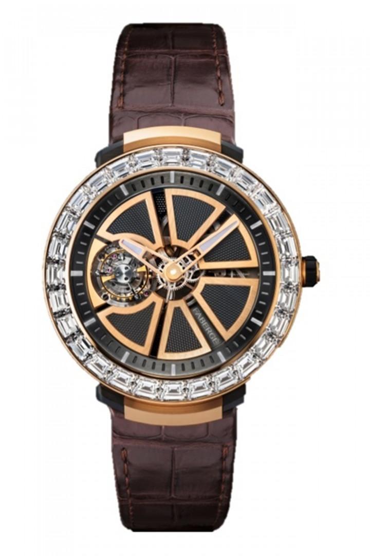 Faberge Visonnaire I Rose Gold Watch